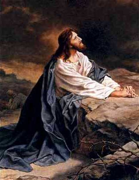 jesus praying in the garden praying is faith in god
