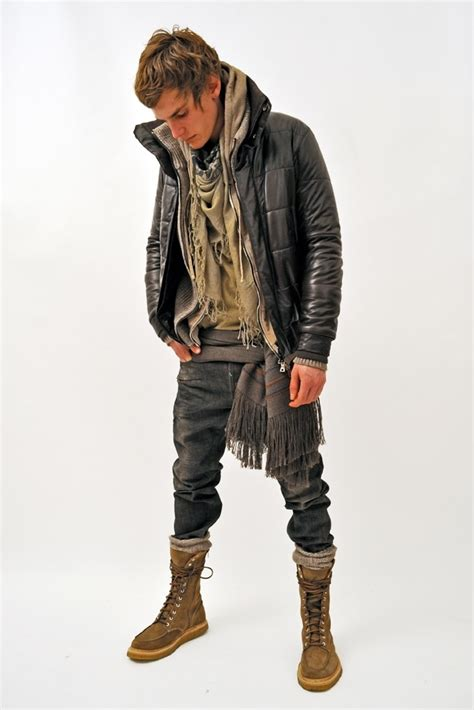 Love When Guys Where Combat Boots With Rolled Jeans