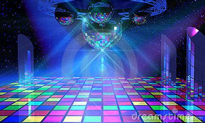 disco ball floor l colorful dance floor with several disco balls stock photo