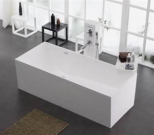 Frei Stehende Badewanne : freistehende badewanne aus mineralguss kzoao 1006 badewelt wannen kunststein ~ Udekor.club Haus und Dekorationen