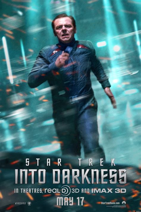 star trek  darkness scotty chekov simon pegg