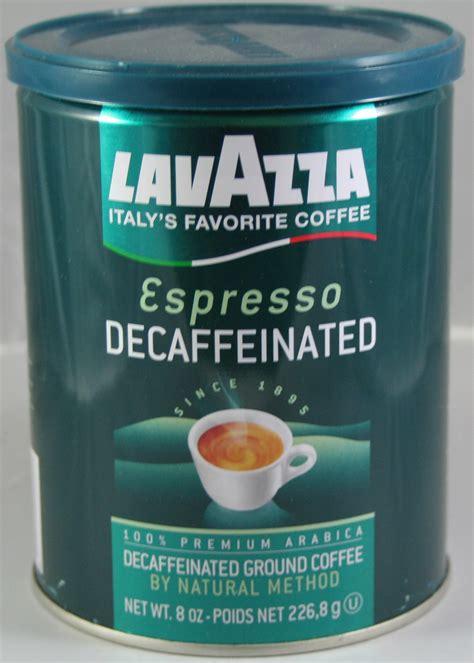 Lavazza Espresso Decaffeinated Ground Coffee Doris