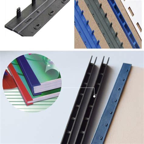 50PCS/BOX 22.5 35mm(210 325sheets) Plastic Binding strips ...