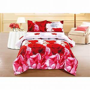Unique, Home, 3, Piece, Set, Lovely, Red, Rose, Clearance