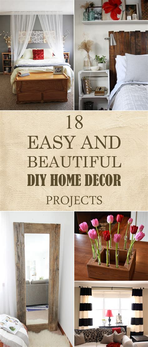 easy  beautiful diy home decor projects