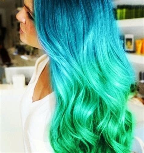 Hair Dye Colours For Hair by Best 25 Aqua Hair Ideas On Dyed Hair Blue