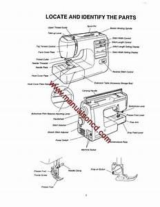 Kenmore 385 16221300 Sewing Machine Service Manual