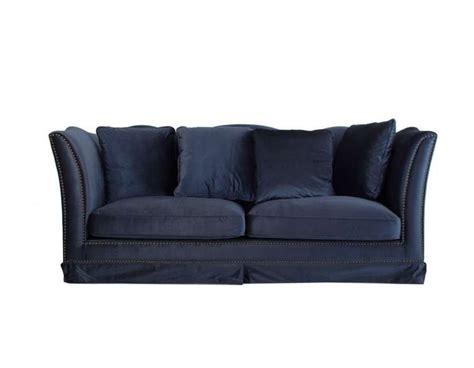 canapé velours bleu canapé bleu nuit en velours moderne vical home