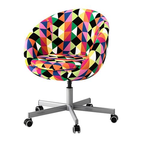chaise de bureau ikea skruvsta swivel chair majviken multicolor ikea