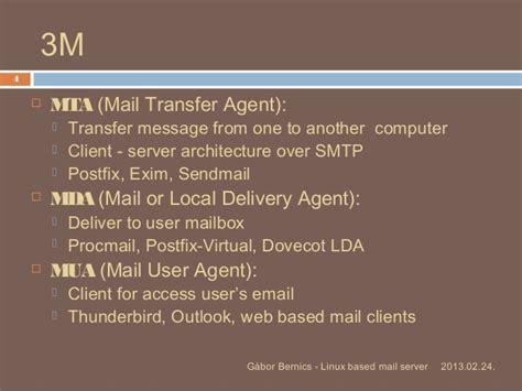 mail linux server based