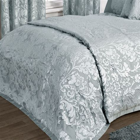 Charleston   Duck Egg   bedspread   throw over     Tonys