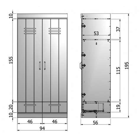 mobilier bureau modulaire armoire connect 2 portes 2 tiroirs style industriel