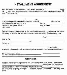 installment agreement 7 free pdf download With installment sale agreement template