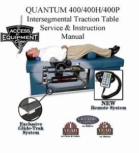 Quantum 400 Ist Table Owners  U0026 Parts Manual