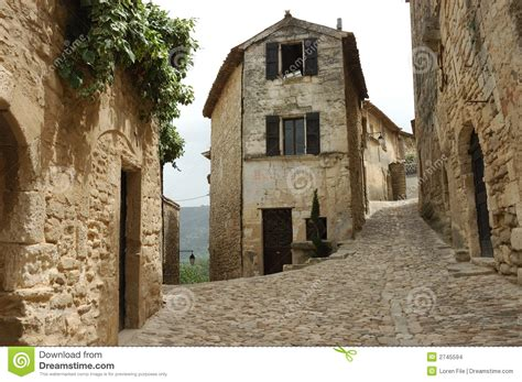 Old French Village Stock Images  Image 2745594