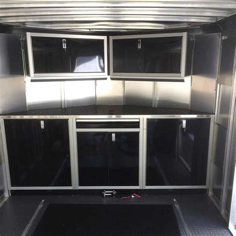 lightweight cabinets for trailers photos of trailer vehicle lightweight aluminum cabinets