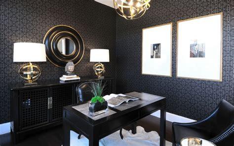 Black Parisian Interior Design Home Office by 47 Home Office Designs Ideas Design Trends Premium