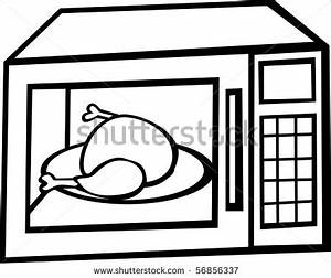 Oven Black And White Clipart - Clipart Suggest