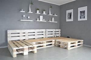Eckbank Aus Paletten : paletten sofa selber bauen wirklich so einfach ~ Markanthonyermac.com Haus und Dekorationen