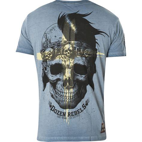 yakuza premium vintage   blue washed   skull