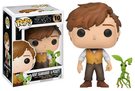 funko pop wick exclusive fantastic beasts and where to find them newt pickett