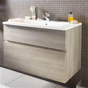 2 la sdb With ordinary meuble sous lavabo avec colonne 10 meuble castorama