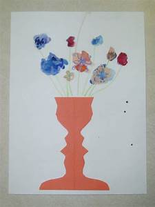 Miss Young's Art Room: 3rd Grade Negative Space Face Vases