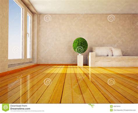 plante verte chambre plante verte ronde dans la chambre illustration stock