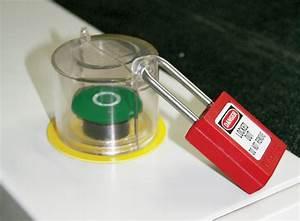 Interrupteur Bouton Poussoir : capot de protection pour boutons poussoirs master lock s2151 ~ Melissatoandfro.com Idées de Décoration