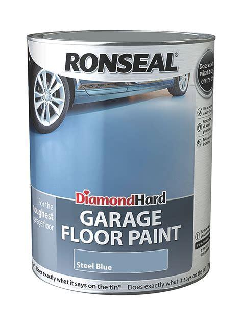 Ronseal Diamond Hard Garage Floor Paint Steel Blue Satin
