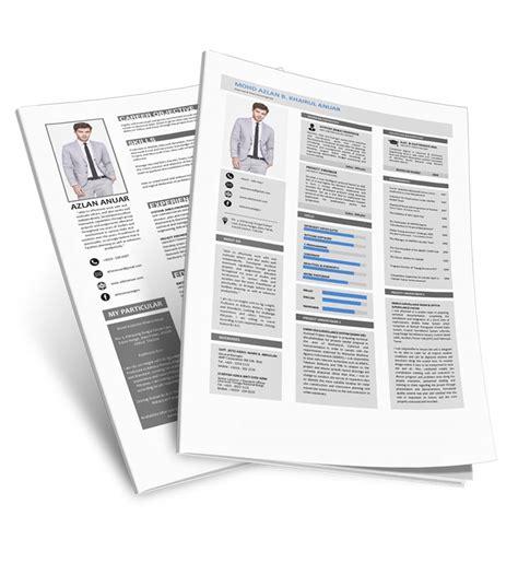 Template Untuk Resume by Template Resume Percuma Untuk Pencari Kerja