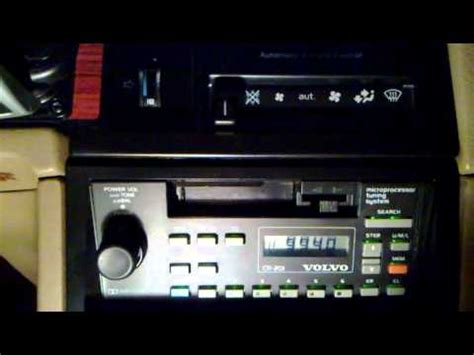 Volvo 240 Radio by Volvo Original Cassette Radio