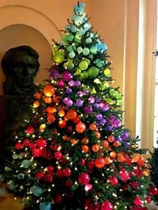 Geschmückte Weihnachtsbäume Christbaum Dekorieren : weihnachtsbaum schm cken 40 einmalige bilder zum fest weihnachtsb ume ~ Markanthonyermac.com Haus und Dekorationen