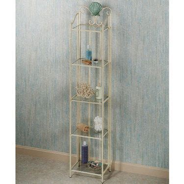 Etagere Decorating Ideas by Sea 5 Tier Metal Etagere Decorating Ideas Bath