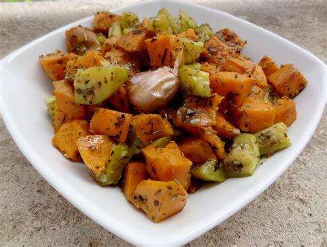 cuisiné la courgette salade de patate douce et courgettes la tendresse en cuisine