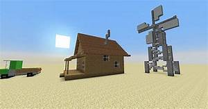 Courage the Cowardly Dog: Farm House Minecraft Project
