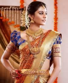 saree designs top best designer blouse designs for pattu sarees wedding bridal pattu sarees