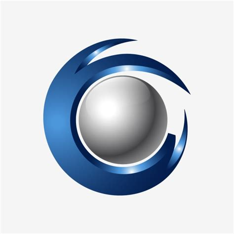Logo 3d by Creative Abstract 3d Orbit Sphere Vector Logo Template For