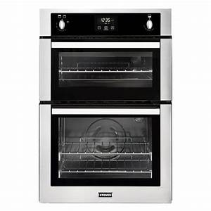 Stoves B1900g Built-In 90cm Gas Double Oven Stainless ...
