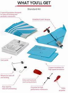 Loop  Flip And Barrel Roll With Tiny Smart Paper Airplanes