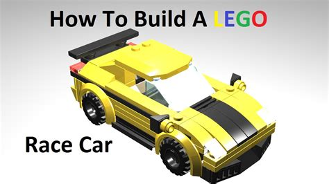 How To Build A Lego Race Car Custom Moc Instructions