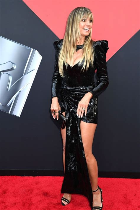 Heidi Klum Dazzles Sequins The Mtv Video Music