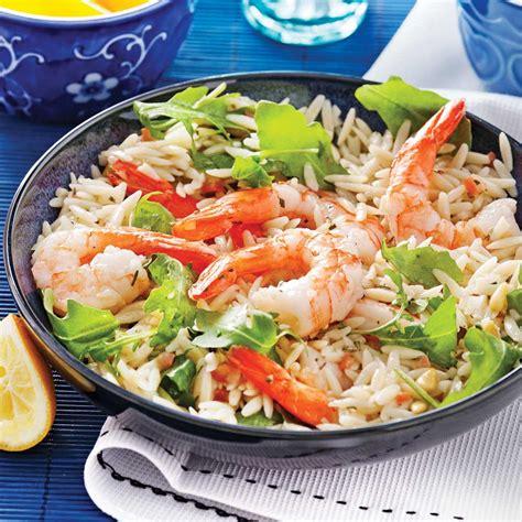 cuisine à l italienne salade d 39 orzo et crevettes à l 39 italienne recettes