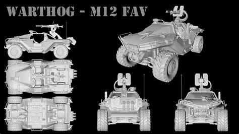 halo warthog blueprints warthog m12 fav halo 4 by jamezzz92 on deviantart