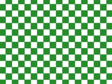 Checkered Background Green Checkered Background Free Stock Photo