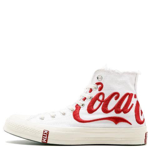 kith  coca cola  converse chuck taylor  star high