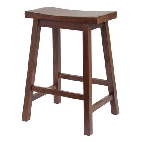 24 Stools For The Kitchen by Winsome Wood Kitchen Stool 24 Inch Saddle Seat Rta On Sale