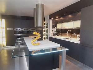 ilot central design cuisine en image With cuisine ilot central design