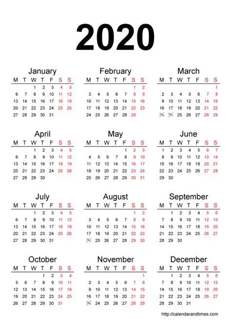 blank calendar calendar year printable