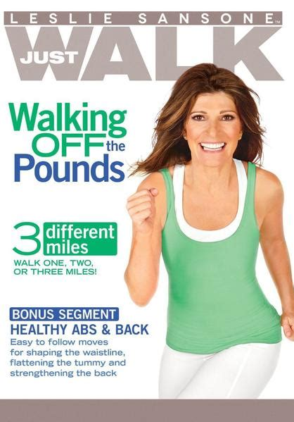walking leslie sansone walk pounds dvd fitness dvds mile exercise tv amazon quick weight body challenge remixes hits workouts radio